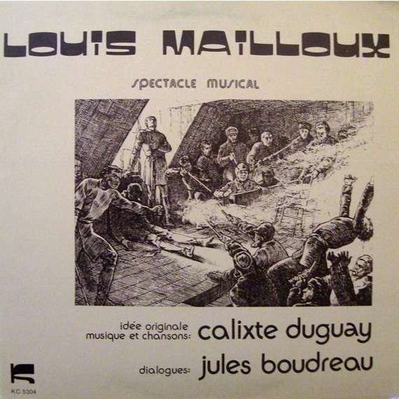 Louis Mailloux - specacle musical