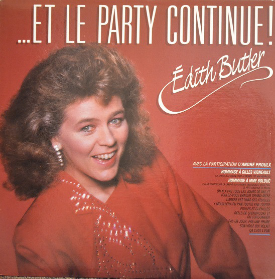 Édith Butler - ... Et le Party continue!