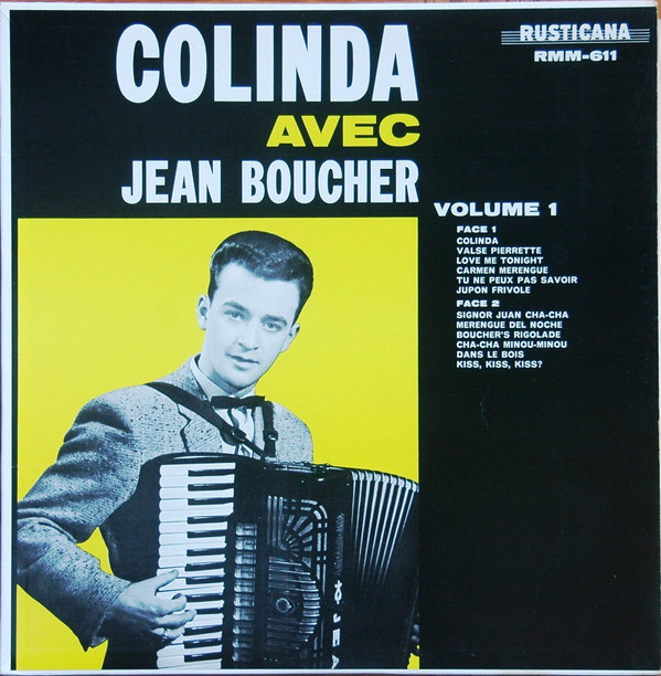 Jean Boucher - Colinda Vol.1