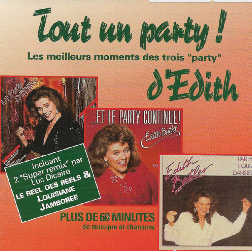 Édith Butler - Tout un party!